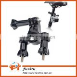 Bike Handlebar Roll Bar Seatpost Pole Mount Holder Handlebar Mount for GoPro Hero 4/3+/3