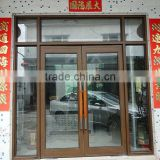 aluminum revolving doors,aluminum spring door,double glass spring door