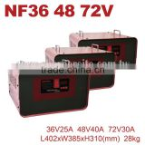 36V 48V 72V 25A 30A 40A Microcomputer Industrail Car Battery Charger for Golf car Sweeper