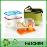 2015 Hot Sales China Wholesale PP Bento Lunch box                                                                         Quality Choice