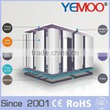 YEMOO cold storage cold room cooling system for meat and fish , fruit and vegetable used bitzer/copeland type condensing units