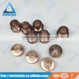 tungsten copper electrode / contact for high voltage circuit breaker SF6 circuit breaker