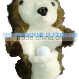 lovely animal driver golf head cover
