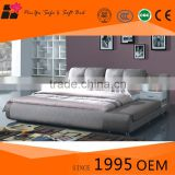 Wholesale modern design mattress beds, double king size bed for modern furniture in bed room