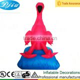 DJ-XT-11 inflatable red flamingo party decoration pool fun festival favor