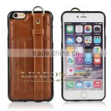 Wallet Case for iPhone 6 leather case Slim Protective Leather Wallet, hand strap case for iPhone 6