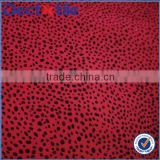 Polyester staple fiber shower curtain flocked fabric new product