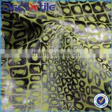 Beautiful polyester cotton printing fabric flocking fabric for women's dress