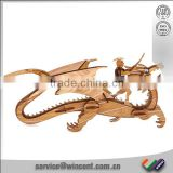intelligent handmade Pterosaur 3d bamboo puzzle for kids toy