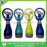 Kids Favor Handy Plastic Mini Water Bottle Spray Fan Cooling Fan For Hot Summer