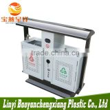 china wholesale indoor OEM stand galvanized steel garbage containers