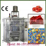 Sauce packaging machine , sachet packaging machine , sachet liquid yogurt packaging machine