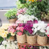 High quality and Fashionable wooden decoration Short stem flower with display box made in Japan