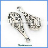 Wholesale Subtle Snowflake Pendant Metal Findings For Jewelry Making PB-P6204