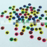 Circle Black Pupil Plastic Moving eyes For Doll DIY
