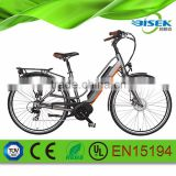 Bafang mid motor powered electric bicycle 700CC for men