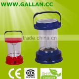 led solar lantern rechargable shake to charge three colors outdoor camping lighting equipment