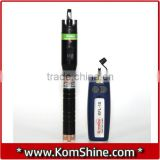 Fiber Optic Visual Fault Locator KomShine KFL-10 Fiber Break Checker/VFL,10mw/20mw Visual Laser Source with 1.25mm LC Adapter