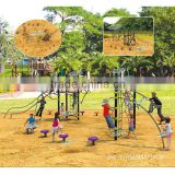 Long-life galvanized steel pipe outdoor equipment with climbing exercise