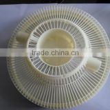 Different Type Beige Plastic Fan Shell