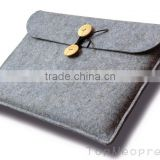 New Fashion Wool felt laptop bag Tablet case Sleeve