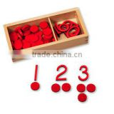 2015 New wooden math counter,High Quality math wooden toys ,Hot Sale kids educational math toys
