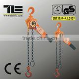 capacity combined steel lever chain hoist Lever Hoist To EN13157 with CE & GS
