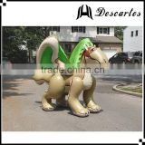 Chinese animal H:2.5M inflatable replica zenith dragon for large events
