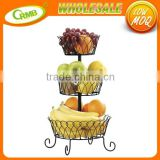 3 Tiers Steel WIre Detachable Home Table Kitchen Dinning Decoration Plant Fruit Storage Basket