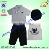 latest boys fashion jeans and shirt 4 pcs set
