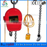 3T3M DHS model electric chain hoist manufacture 5 Ton Fixed Remote Control Electric Hoist