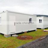 steel structure modified refugee container housing unit temporary camp for europe refugee