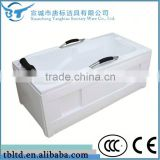 Factory made directly whirlpool acrylic freestanding massage bathtub small jet message bathtub