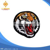 Popular cheapest custom tiger design embroidery patch