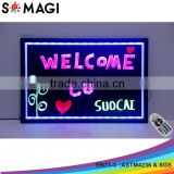 led message board, diy outdoor display board for cafe shop, bars and restaurants