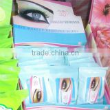 eye makeup remover wet wipes, eyelid wet tissue