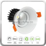 Recessed led cob downlight for bar lighting led downlight cob 9W. led ceiling downlight