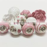 Hot Sale Ceramic Knobs/Wholesale Decorative Colorful Knobs/For Kitchen Cabinet,Door,Furniture Handles