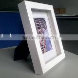 white boxed photo frames 8x10