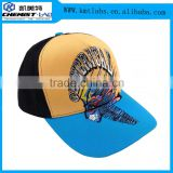 Custom embroidery 6 panel baseball Led cap with customer's logo light up fashionable cap