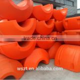 Float pontoon for dredging abd hose floaterand rotational molding plastic pontoon on sale from china