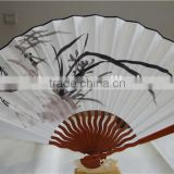 Shrimp -Chinese famous painting Home decor Hand painted big wall paper bamboo fans