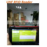 4G LTE tablet pc made in china with wireless fingerprint scanner handheld UHF RFID reader writer PDA device industrial android