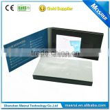 Paper Material and Business Gift card Use promotional Video signature card, exhibition video invitation card
