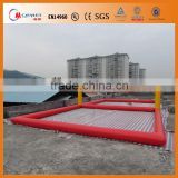 Manufacturer! Inflatable Water Games Water Equipment Inflatable Beach Volleyball Court,Inflatable Volleyball Field For Sale