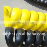 PP tube spiral guard,plastic spiral guard for hose protector