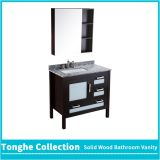 Tonghe Collection Freestanding Bathroom Vanity Granite Top Glass Door