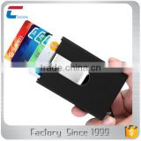 Credit Card Holder RFID Blocking Stainless Steel Business Card Holder Automatic Pop-up Card Case