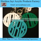 china factory custom high quality printed acrylic keychain in any color