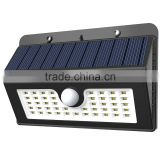 45Leds Solar Sensor Powered Wall mounted hanging basket with solar light